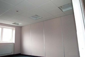 Composite partitioning with a microlook Dune ceiling