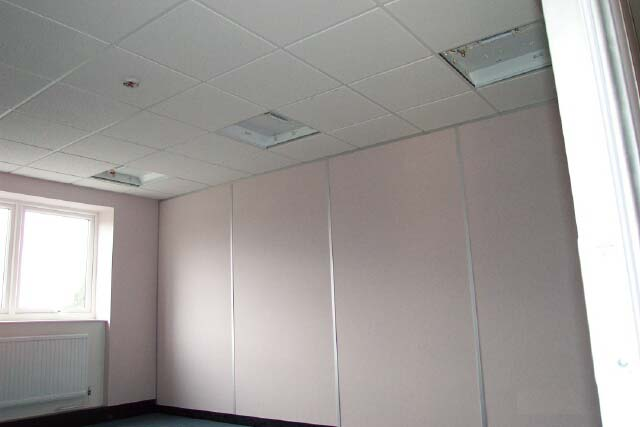Office Partitioning Solid Amp Glazed Herefordshire