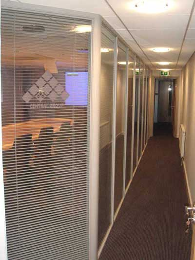 Glass Office Partitions Glazed Office Partitioning