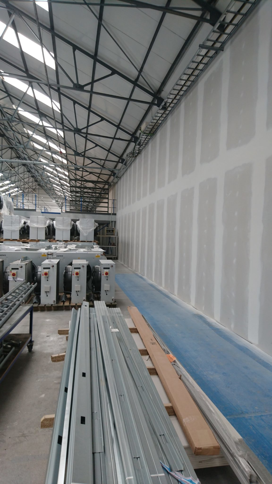 Jumbo Stud Warehouse Partition Hereford Worcester